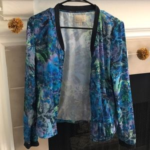 Hinge colorful zip up jacket